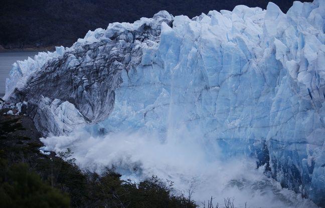 VIDEO. Argentine: Un énorme glacier au bord de la rupture attire des milliers de touristes