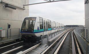 Illustration de la ligne A du métro de Rennes.