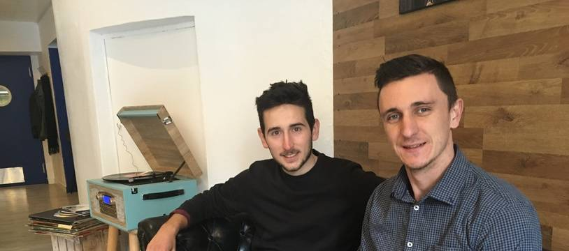 Jean-Baptiste et Florian ont ouvert le Colock Café à Montpellier.