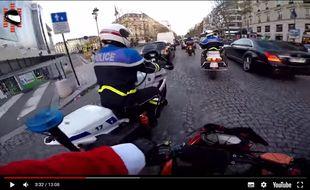 Le Youtubeur Chris Rs a filmé la course poursuite d'une automobiliste auteur d'un délit de fuite.