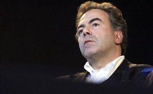 Luc Chatel, le 15 septembre 2012, lors d'un congrès de l'UMP à Samoëns (Haute-Savoie).