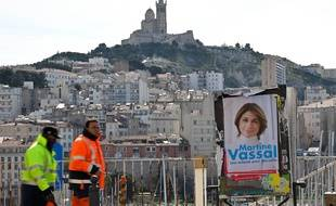 A Marseille, la candidature de Martine Vassal (LR) risque d'être plombée par le maintien d'une liste de droite dissidente.