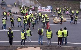 Des gilets jaunes à Nantes, le 17 novembre 201