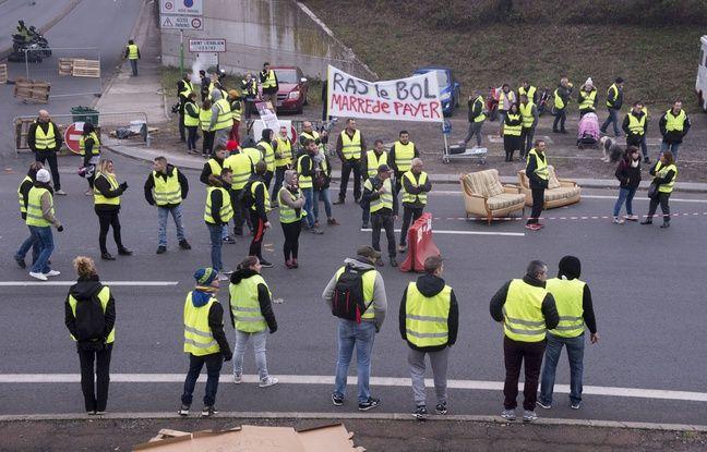 Blocage des «gilets jaunes»: La mobilisation reprend ce dimanche à Nantes
