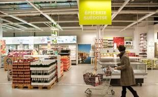 Rayon alimentation du Ikea Bordeaux-Lac.