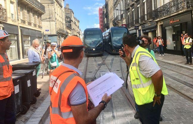 Bordeaux: On a suivi les tout premiers essais du tramway sur la future ligne D