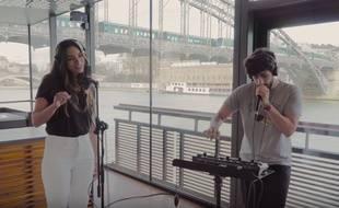 Alma et MB 14 ont repris en duo «Requiem» dans une vidéo.