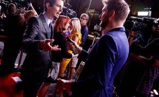Damien Chazelle le 4 octobre 2018 à Washington pour l'avant-première américaine de First Man