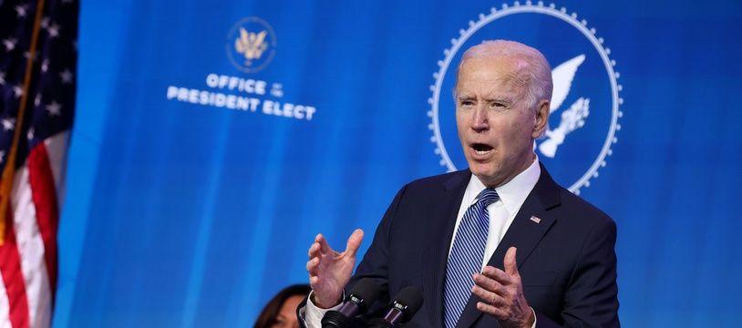 Joe Biden, le 7 janvier 2020.