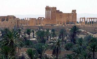 Les ruines de la cité ancienne de Palmyre.