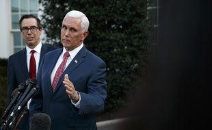Le vice-président des Etats-Unis Mike Pence