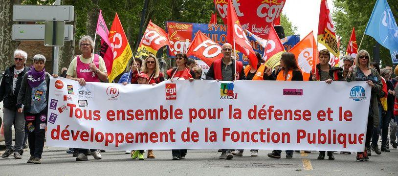 08a8cdc1ed7 La journée de mobilisation des fonctionnaires a rassemblé 108.900  manifestants en France selon le ministère de