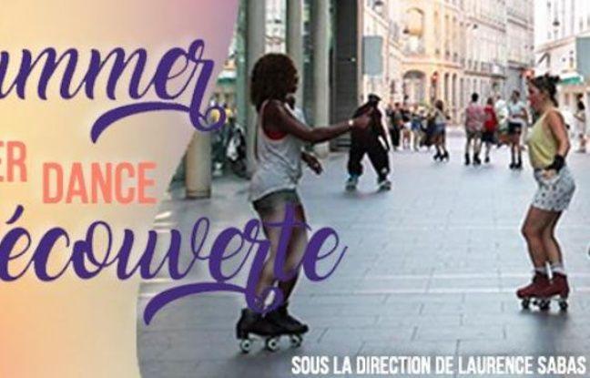 La professeure Laurence Sabas aux manettes des cours de Roller Dance en plein air cet été à Paris