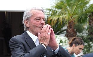 Alain Delon, lors de la dernière édition du Festival de Cannes