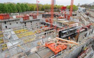 La région Ile-de-France exige de parler français sur les chantiers publics (Illustration).