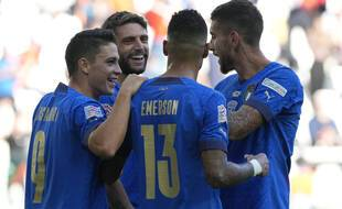 L'Italie a battu la Belgique pour s'offrir la 3e place de la Ligue des nations, le 10 octobre 2021.
