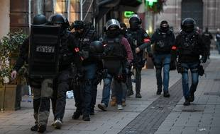 Les policiers la brigade recherche et d'intervention continuent de traquer Cherif Chekatt.