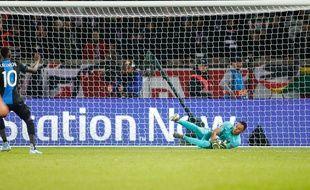 Face à Bruges, Navas a arrêté le premier péno de sa carrière en Ligue des champions.