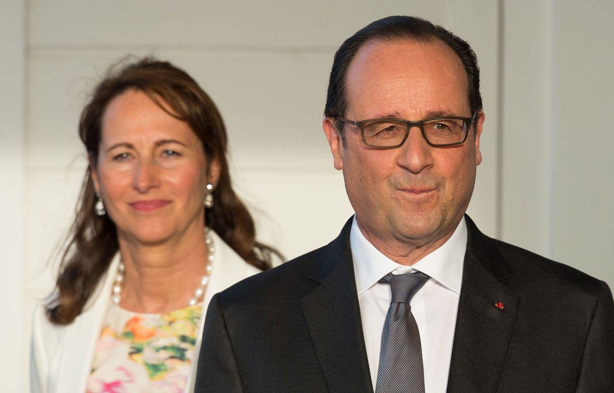 François Hollande et Ségolène Royal aux Antilles, le 8 mai 2015. – WITT/SIPA