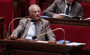 Le président de la commission des Finances de l'Assemblée nationale, le député UPM Gilles Carrez, le 2 juin 2013.