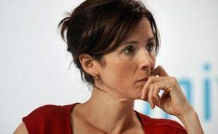 La députée socialiste Barbara Romagnan à l'Université d'été du PS à La Rochelle le 25 août 2012