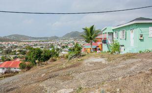 Sur l'île de Saint-Martin, le 25 juillet 2018.