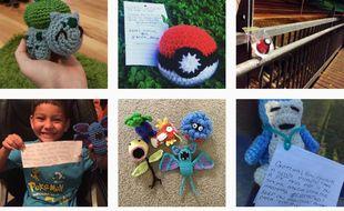 Les amateurs de crochet ont décidé d'offrir aux joueurs de Pokémon GO de vraies figurines.