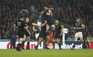 La Nouvelle-Zélande a dominé l'Afrique du Sud le 24 octobre 2015.