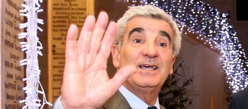 Gérard Trémège, maire de Tarbes en décembre 2013.