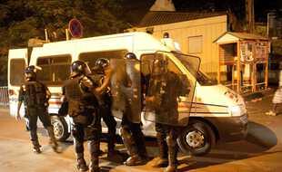 Des forces de police à Mayotte (illustration).