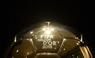 Le trophée du Ballon d'Or
