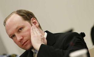 Anders Breivik, le 22 juin 2012, au dernier jour de son procès à Oslo (Norvège).