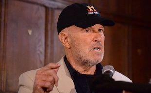 L'archéologue Barry Clifford talks about discovering lors d'une conférence de presse, le 14 mai 2014 à New York.