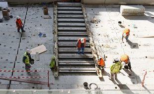 Illustration d'un chantier.