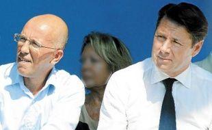 Eric Ciotti et Christian Estrosi