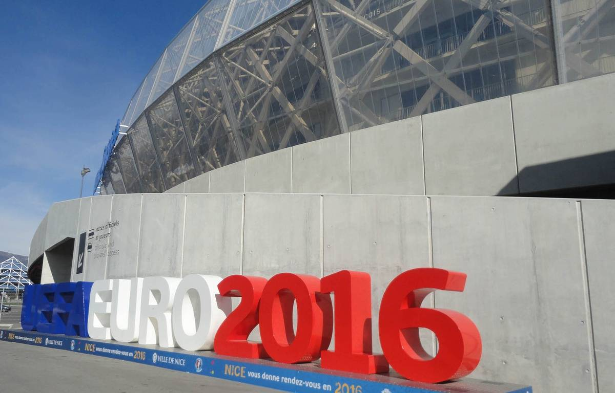Cinq matchs de l'Euro 2016 auront lieu au stade de Nice.  – M. Frénois / ANP / 20 Minutes