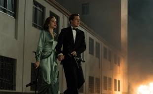 Marion Cotillard et Brad Pitt dans Alliés de Robert Zemeckis