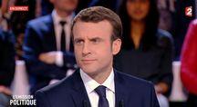 Emmanuel Macron dans «L'Émission politique» sur France 2, le 6 avril.
