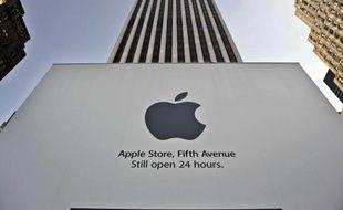 La boutique Apple à New York (Etats-Unis)