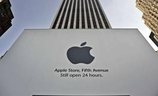 La boutique Apple à New York (Etats-Unis)