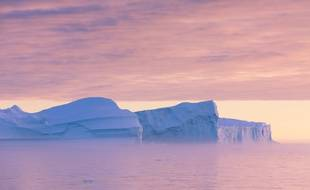 Des icebergs au Groenland (illustration).