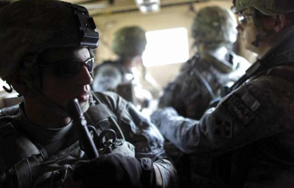 Des soldats américains vers le camp Michigan en Afghanistan. – Reuters