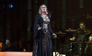 Adele lors du festival de Glastonbury