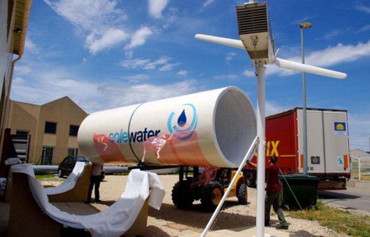 EoleWater, l'éolienne qui fabrique de l'eau. – DR