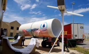 EoleWater, l'éolienne qui fabrique de l'eau.