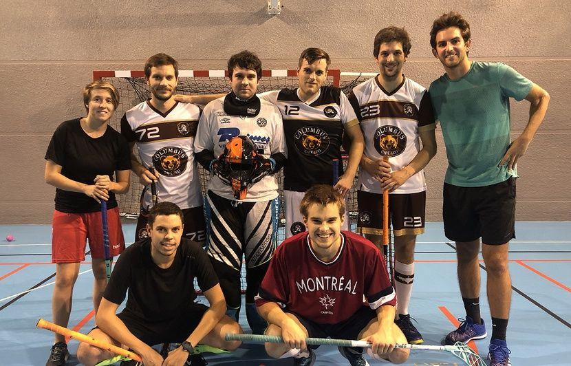 VIDEO. Bordeaux : Ils jouent au hockey avec une balle et des baskets… C'est quoi le floorball ?