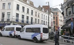 Des échauffourés ont éclaté en face de l'ambassade de Turquie à Bruxelle (Illustration).