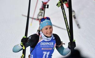 Justine Braisaz visera le podium dimanche au Grand Bornand