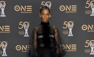 L'actrice Letitia Wright