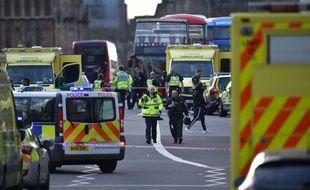 Attentat à Londres le 22/03/2017.